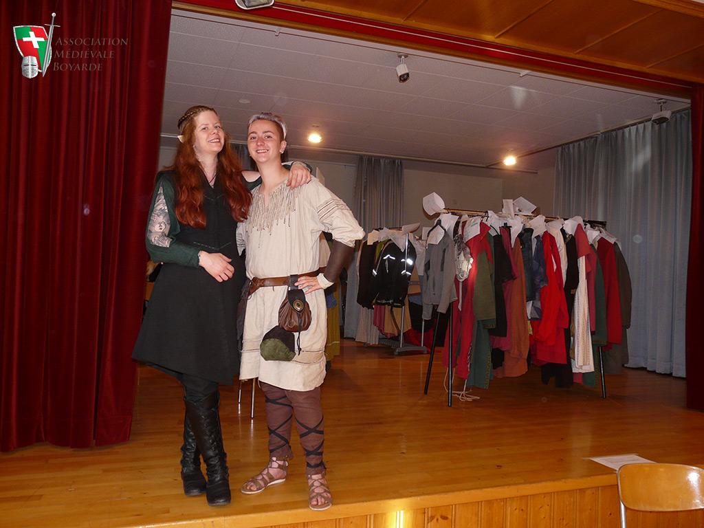 Costumes & bénévoles